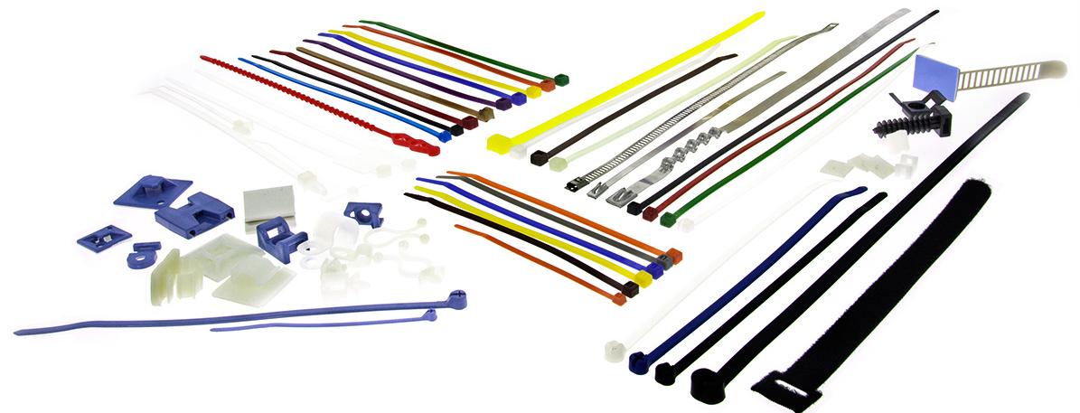 Kabelbinder und Befestigung