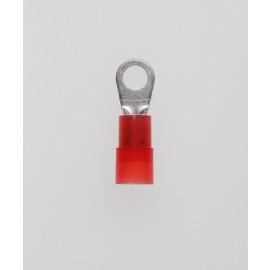 Quetschkabelschuhe Ringform rot