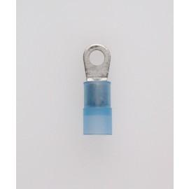 Quetschkabelschuhe Ringform blau