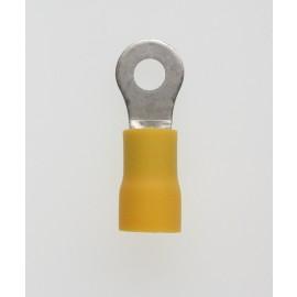 Quetschkabelschuhe Ringform gelb