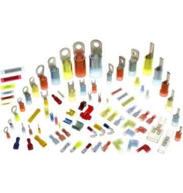 Isolierte Kabelschuhe und Verbinder