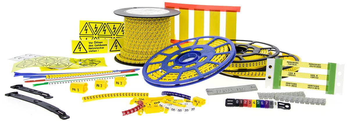Register 12 Register 12    Schilder und Kabelmarkierung © Copyright   Eisenacher elektroTECHNIK GmbH